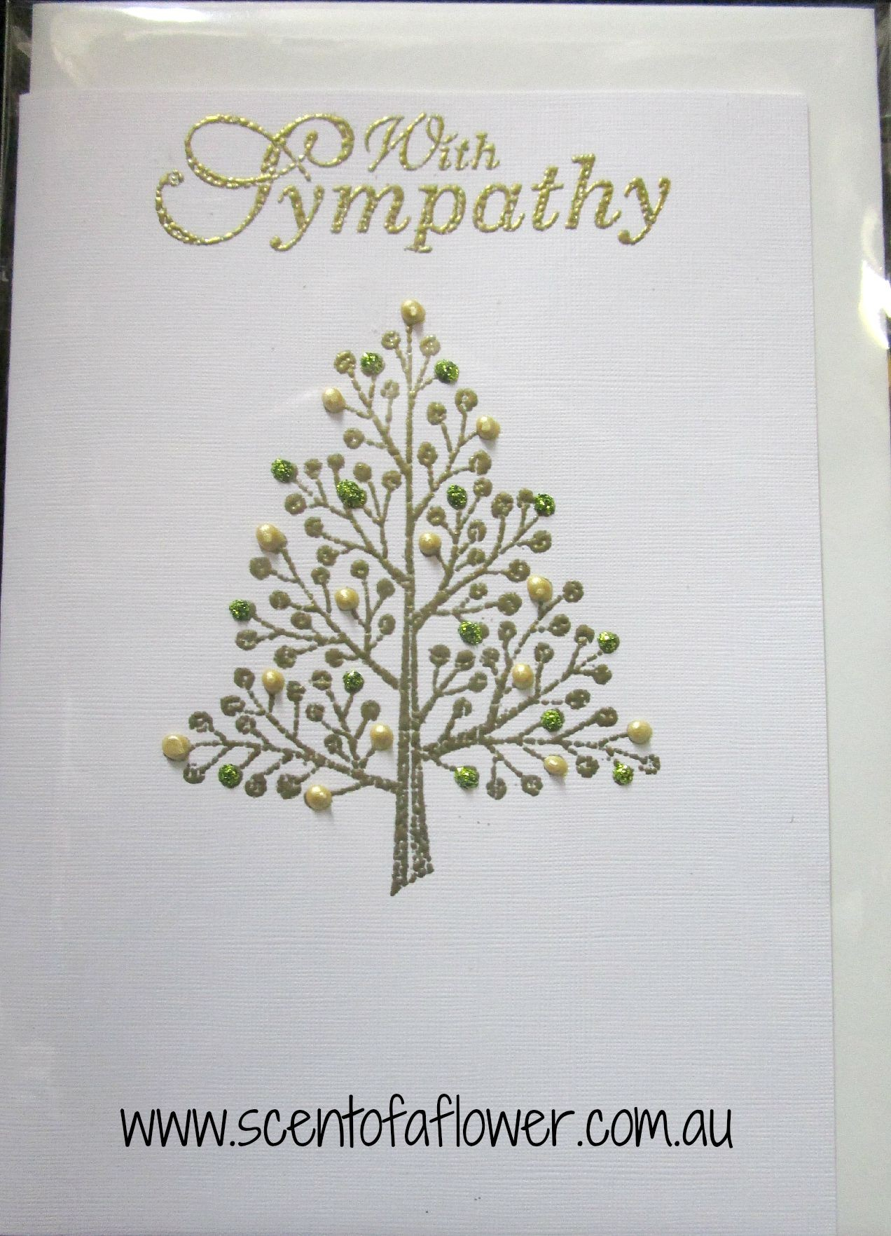 Greeting card sympathy scent of a flower greeting card sympathy m4hsunfo