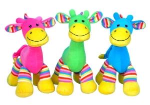 bright giraffe soft toys